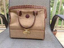 Fendi Handbag/ Purse With Combo Lock bottom Compartment