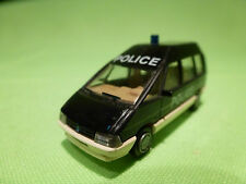 PRALINE RENAULT ESPACE POLICE 1/87 - VERY GOOD CONDITION