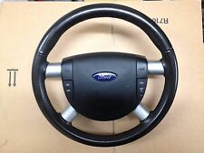 GENUINE FORD MONDEO MK3 2001-2007 MULTI-FUNCTION STEERING WHEEL WITH AIRBAG