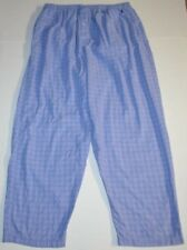 Mens size XL POLO by Ralph Lauren Button Fly Pajama Lounge Cotton Pants