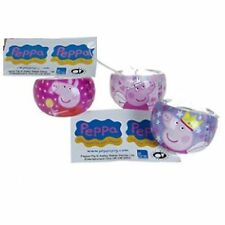 6 Pack PEPPA PIG Rings Chunky in Plastica TV PERSONAGGIO FILM Bigiotteria Ragazze