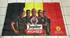 DRAPEAU FLAG BIERE BELGE BEER BIER JUPILER FOOTBALL BELGIQUE COUPE EUROPE 2016