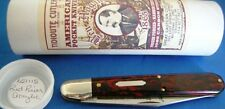 Great Eastern Cutlery Pocket Knife, Ben Hogan, Red River Acrylic, #651115