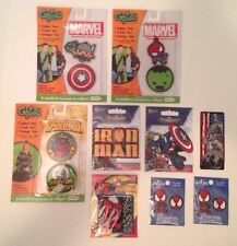 Marvel Avengers/Spiderman Patches-Gutzy Gear&Japan Import-Iron Man,Hulk,Thor,Cap
