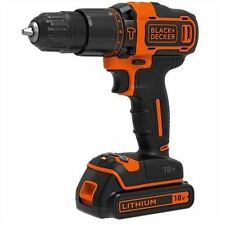 BLACK DECKER 18v & agli ioni di litio trapano 2 Gear