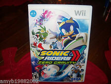 Sonic Riders: Zero Gravity (Wii, 2008) EUC