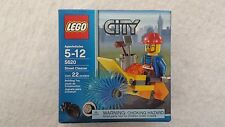 Lego 5620 City Construction STREET CLEANER minifigure set