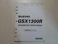 2001 Suzuki GSX1300R Supplementary Service Manual MINOR STAINS FACTORY OEM DEAL