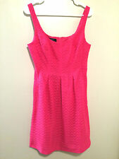 Nine West hot magenta pink women's size 8 dress summer excellent used condition
