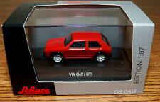 SCHUCO Diecast VW Volkswagen Golf GTI RED 1/87 HO
