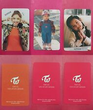 LOT OF 3 TWICE NAYEON Official Photocard Full Set 1st Album The Story Begins 나연