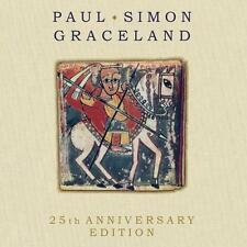 PAUL SIMON - GRACELAND - 25TH ANNIVERSARY    - CD NEUWARE