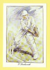 CRICKET - KARIZZMA CRICKET POSTCARD -  REF. 1010  -  DUCKWORTH  OF  LANCASHIRE