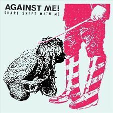 Against Me! SHAPE SHIFT WITH ME +MP3s LIMITED New White Colored Vinyl 2 LP