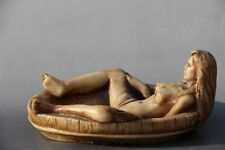 Chinese HANDWORK CARVING BATH ASHTRAY STATUE NR01