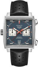 CAW211P.FC6356  | TAG HEUER MONACO | NEW & AUTHENTIC STEVE MCQUEEN MENS WATCH