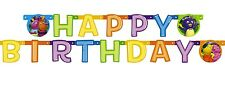 BACKYARDIGANS 5ft JOINTED HAPPY BIRTHDAY BANNER ~ Party Supplies Decorations