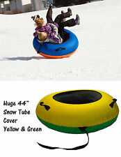 ClearCreekTubes Snow Tube Sled Sledding Cover Snow Tubing Huge Inner Tubes