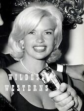 JAYNE MANSFIELD candid microphone interview SEXY PHOTO Hot Close-Up RARE