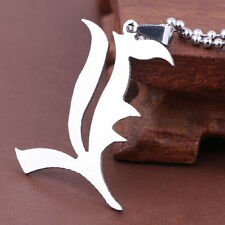 NEW Death Note Silver letter L Lawliet Kira Cosplay Alloy Metal Pendant Necklace