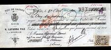 """DOUELLE (46) VINS de CAHORS & NOIX """"H. LAPARRA Fils"""" en 1900"""