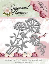 Preciosa Flores Ramo de corte Die Marieke estacional 6.5cm X 4.5cm