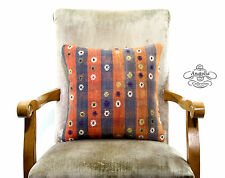 Sale Vintage Kilim Pillow Embroidery Turkish Decor Accent Living Room Pillowcase