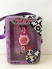 RARE Powerpuff Girls Watch in Carry Case Brand New Armitron Water Resist MINT
