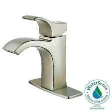 Pfister Venturi Single Hole Single-Handle Bathroom Faucet in Brushed Nickel