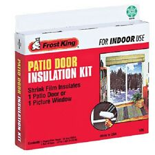 "12 Thermwell V76H Frost King 84"" x 110"" Patio Door Shrink Window Insulator Kits"