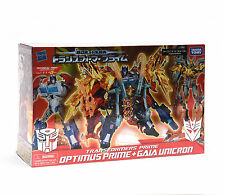 Transformers Action Figure Exclusive Optimus Prime & Gaia Unicron Year Of Snake