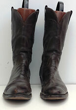 Lot-09 Mens' Size 13 AAA Olathe Brown Western Cowboy Boots