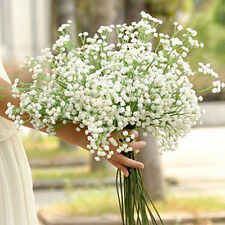 Artificial Gypsophila Flower Silk Wedding Party Craft Home Decor 1 Stem DiY