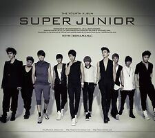 K-POP SUPER JUNIOR 4th Repackage Album [BONAMANA] CD Sealed Music CD