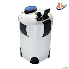 SUNSUN HW-303B 4-STAGE EXTERNAL CANISTER FILTER 370GPH 9W UV STERILIZER W/ MEDIA