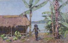 15143/ AK Kolonialkriegerdank, Papua in Neuguinea, 1935