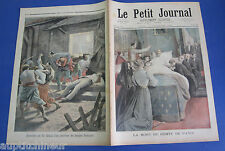 Le petit journal 1894 200 mort comte de paris + assassinat chinois controleur
