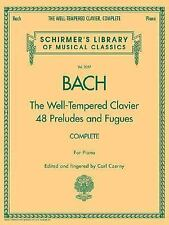The Well-Tempered Clavier, Complete: Schirmer Library of Musical-ExLibrary