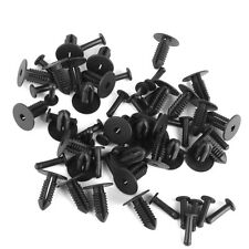 30x Car Panel Bumper Trim Clips Push-type Pins Retainer for Benz 1249900492