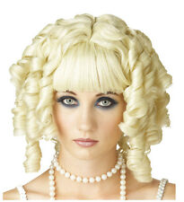 Synthetic Role play anime Peluca hentai HentCrossdresser Costume Curly Blond Wig