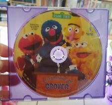Sesame Street - A Celebration of Me Grover (disc only) DVD MOVIE - FREE POST
