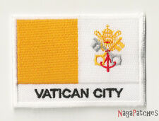écusson Ecusson patche drapeau VATICAN 70/45 mm / patch 181