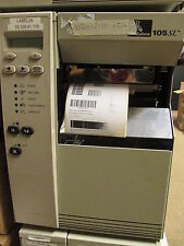 Zebra 105SL 10500-200E-0500 Thermal Barcode Label Printer Serial Network  LINES