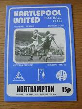 11/04/1978 Hartlepool United v Northampton Town  . No obvious faults.