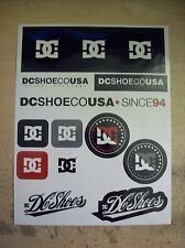 DC SHOES SKATEBOARD SURF DECAL STICKER PACK