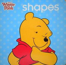 learning SHAPES Children's Board Book new Disney Winnie the Pooh