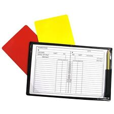 NEW Precision Referee Note Book Pad - Cheap Refs Football Note Pad - Official