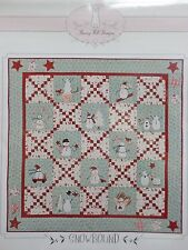 SNOWBOUND QUILT PATTERN, From Bunny Hill Designs NEW