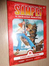DVD N° 5 SAMPEI IL RAGAZZO PESCATORE L´ITOU DELLE PALUDI GAZZETTA DELLO SPORT