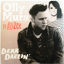 "OLLY MURS ET ALIZÉE - RARE CD SINGLE PROMO ""DEAR DARLIN'"""